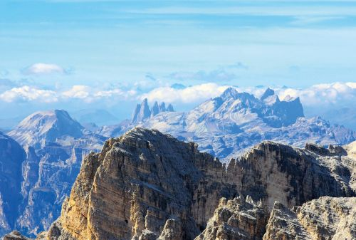 dolomites mountains tofana