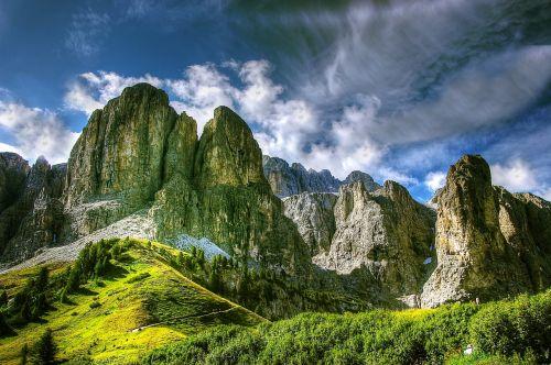 dolomites mountains italy