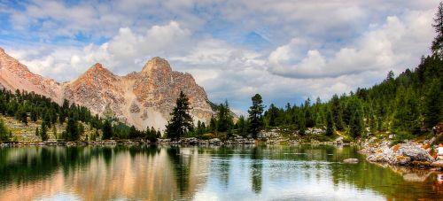 dolomites fanes landscape