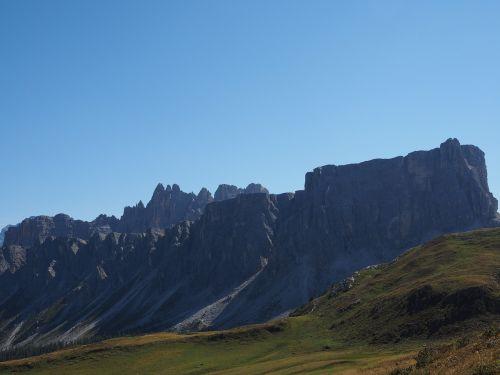 dolomites mountains mountain group