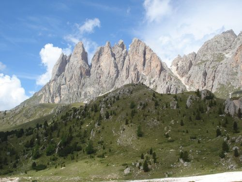 dolomites geisler acute south