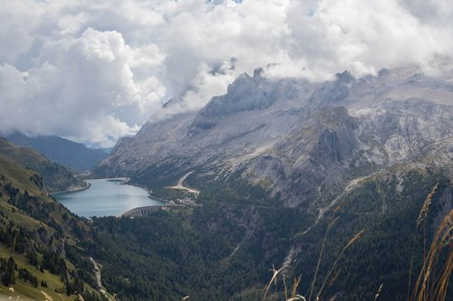 dolomites  mountains  view