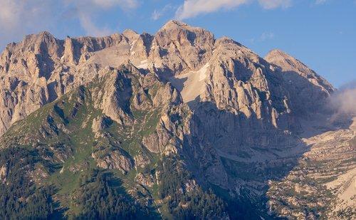 dolomites  outdoor  landscape