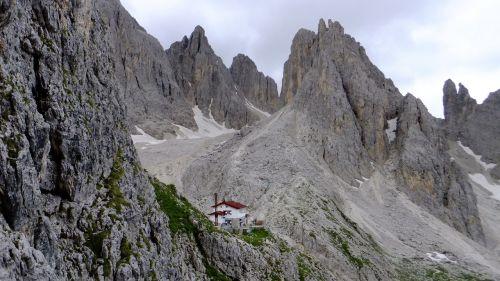 dolomites mountains rock