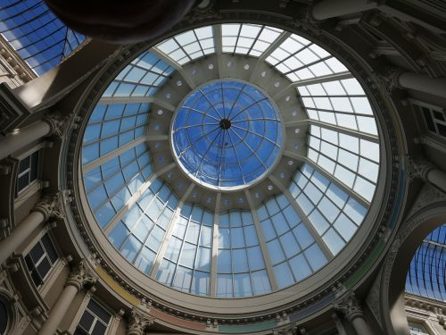 dome glass roof monument