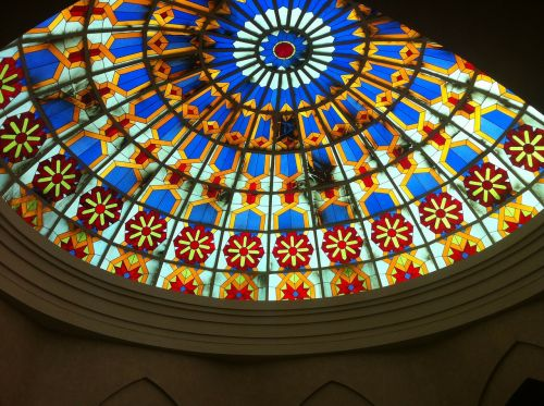 dome gorgeous glass