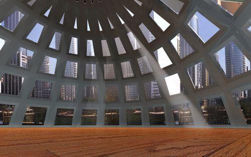kupolas,langas,architektūra,pastatas,antklodė,stiklas,stiklo kupolas,šviesa,atspindys,stiklo langas
