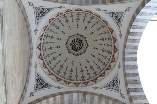 dome mosaic mosque