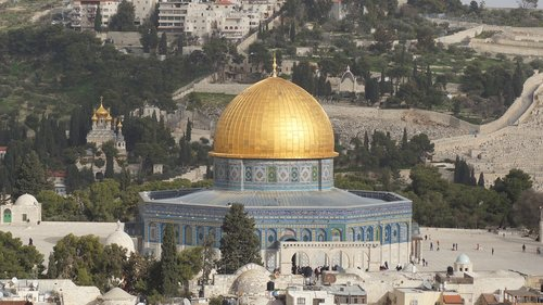 dome of the rock  israel  temple mount