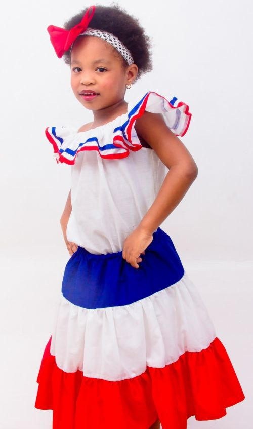 dominican girl dress