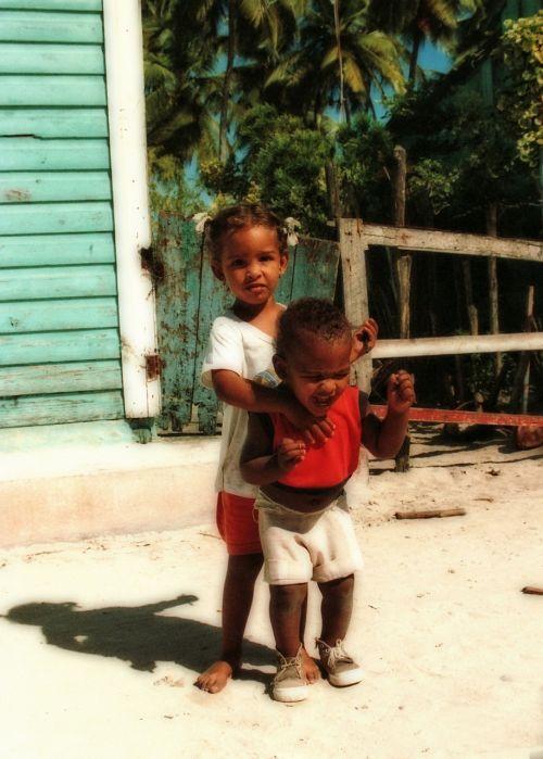 dominican children humans
