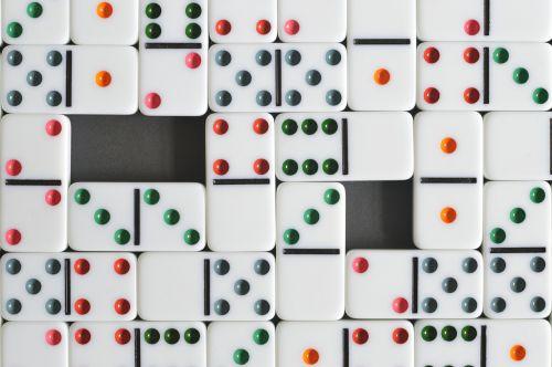 domino background texture