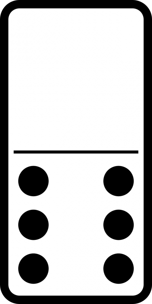 domino game tile