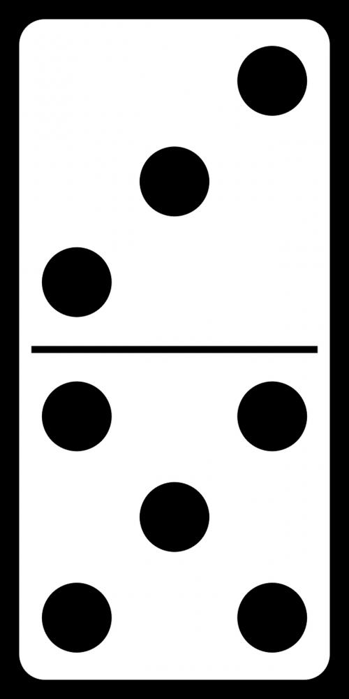 domino dominoes bones