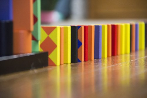 dominoes  domino  colorful