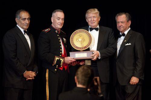 donald trump john marine corps foundation commandants