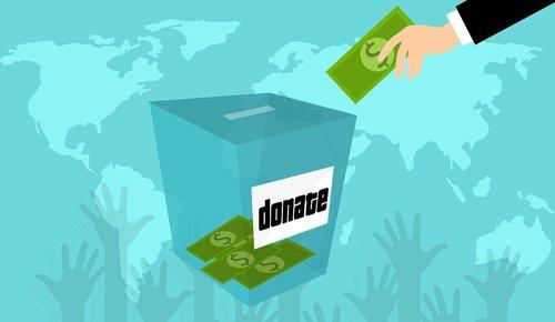donation  charity  box
