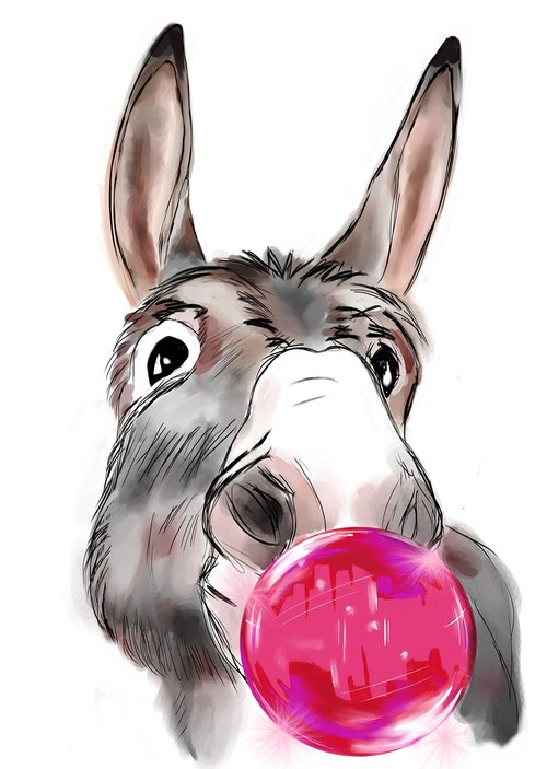 donkey  farm  workhorse