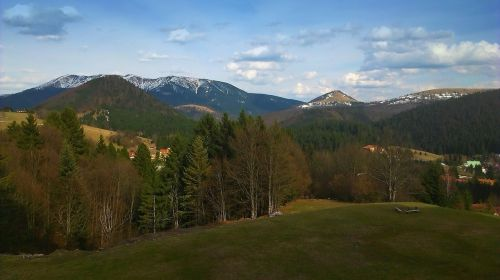 donovaly low tatras mountains