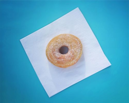 donut dessert sugar