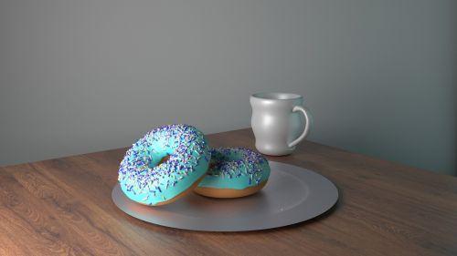 donuts donuts and mug mug