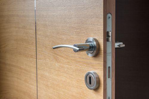 door open wooden