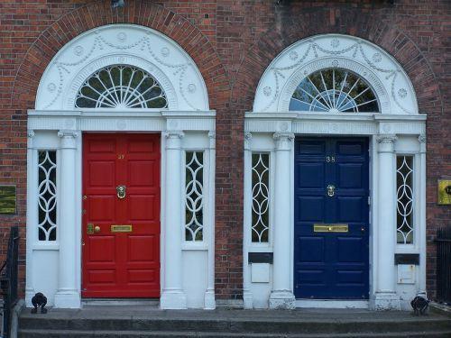 door front door input