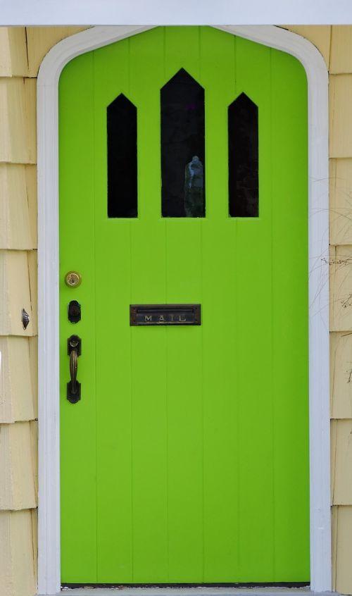 door front door green