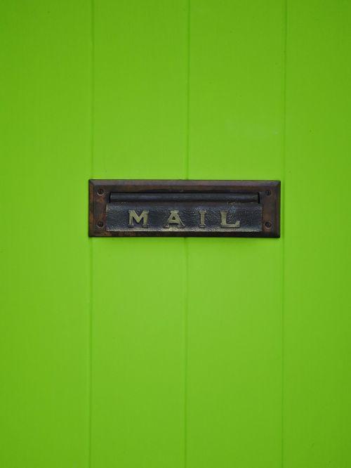 door mail slot mail
