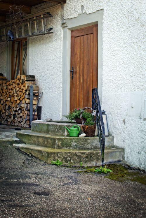 door stairs input