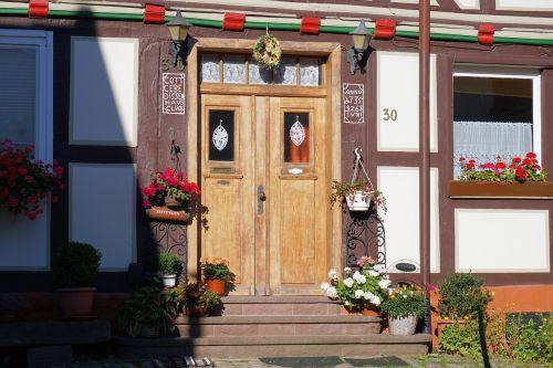 door entrance door input