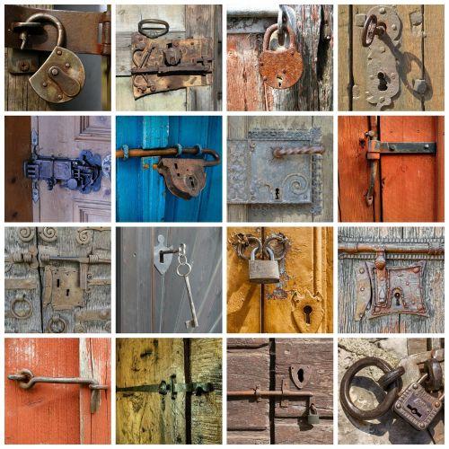 door door lock padlock
