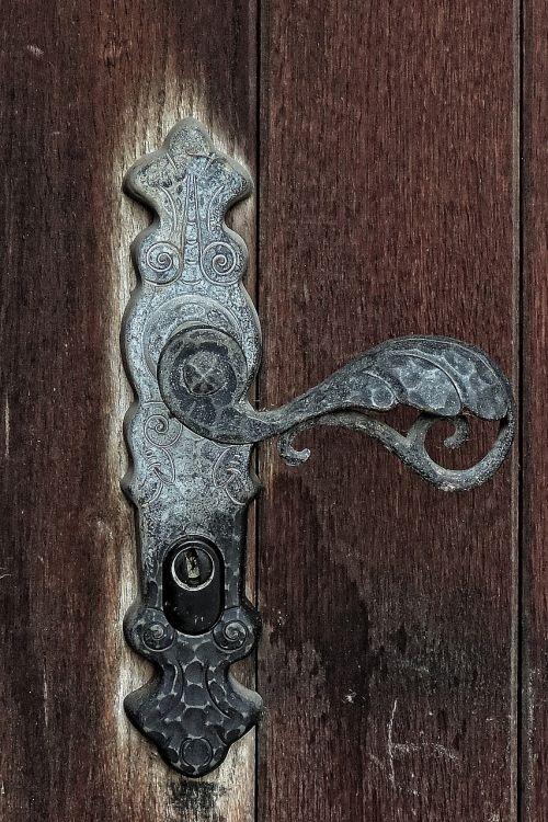door wooden door door handle