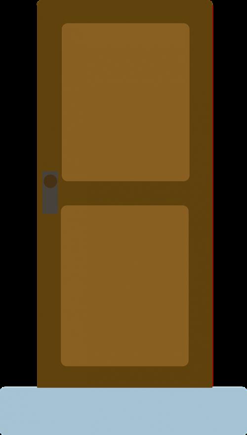 door input room door