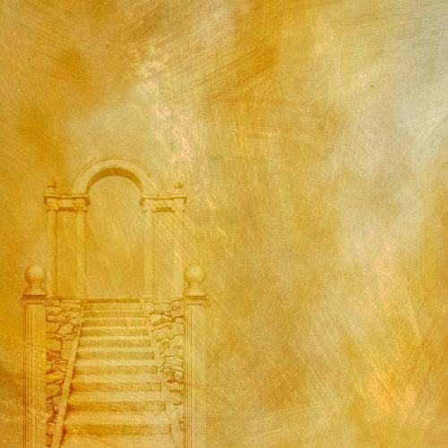 door stairway entrance