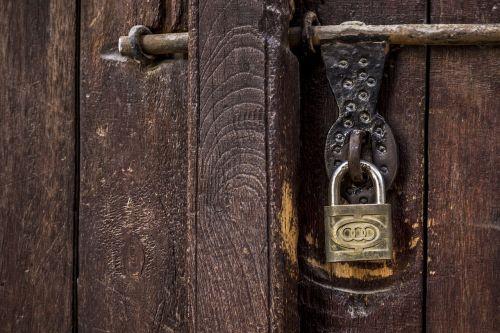 door padlock lock