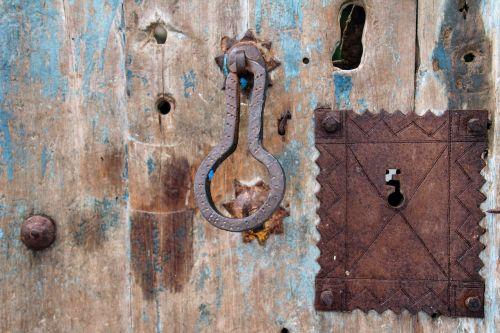 door wooden door castle
