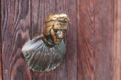 durys,Knauf,nostalgija,senas,Senovinis,metalas,ištemptas,durų rankena,rusvas,Žalvaris,durų rankena,Domkratas,rankena