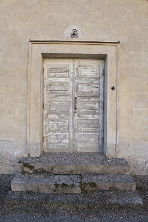 door old wall