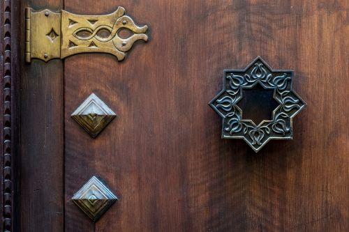door original by hand
