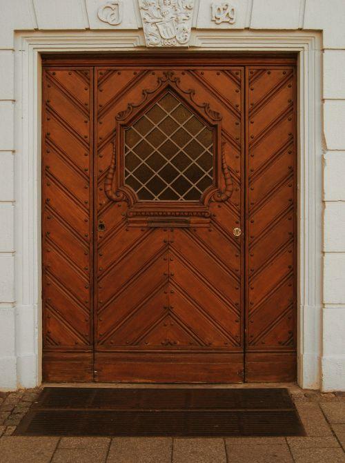 door portal entrance door