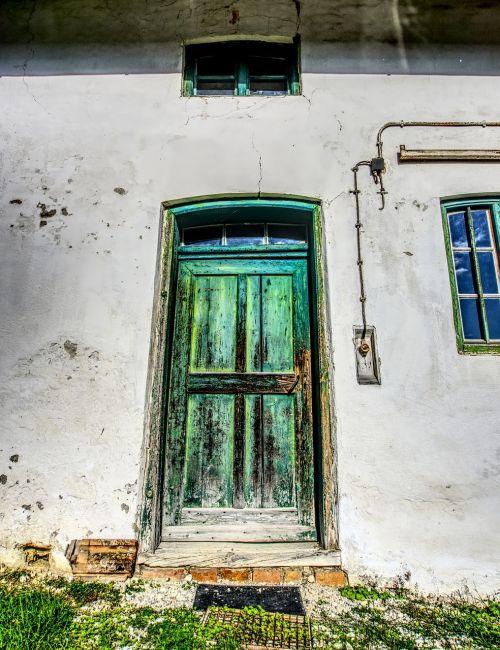 door wooden door old