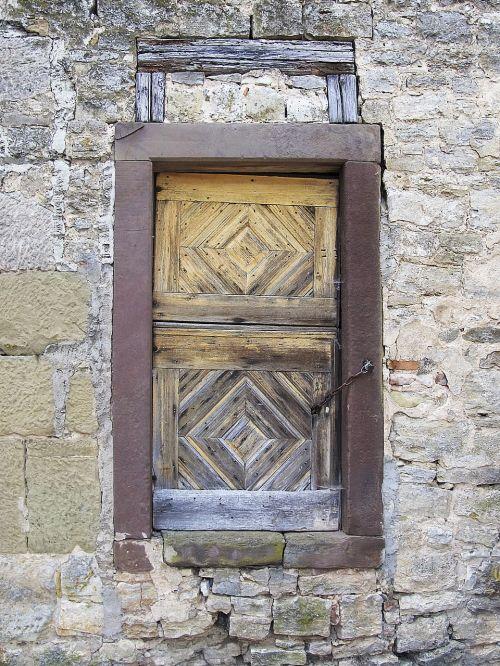 door portal old door