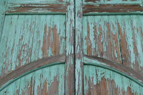 door port wood