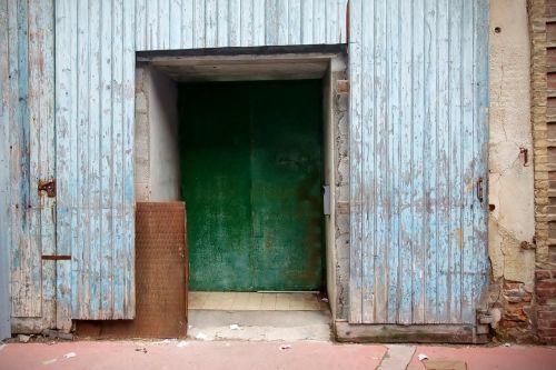 door architecture wood