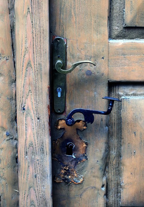 door  wooden door  knauf