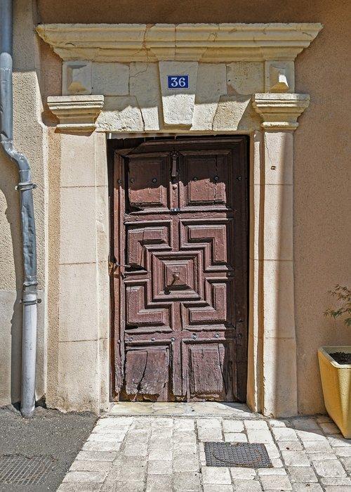 door  wood  old
