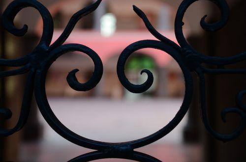 door backlight smile