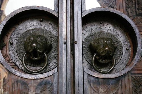 door  push  old