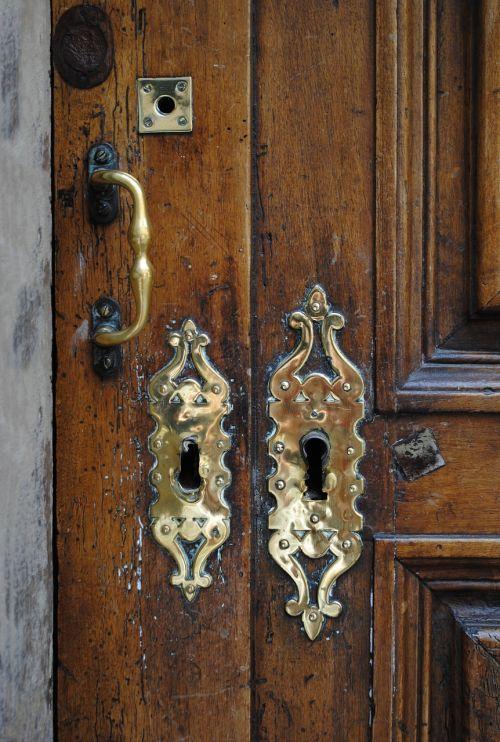 door fittings brass